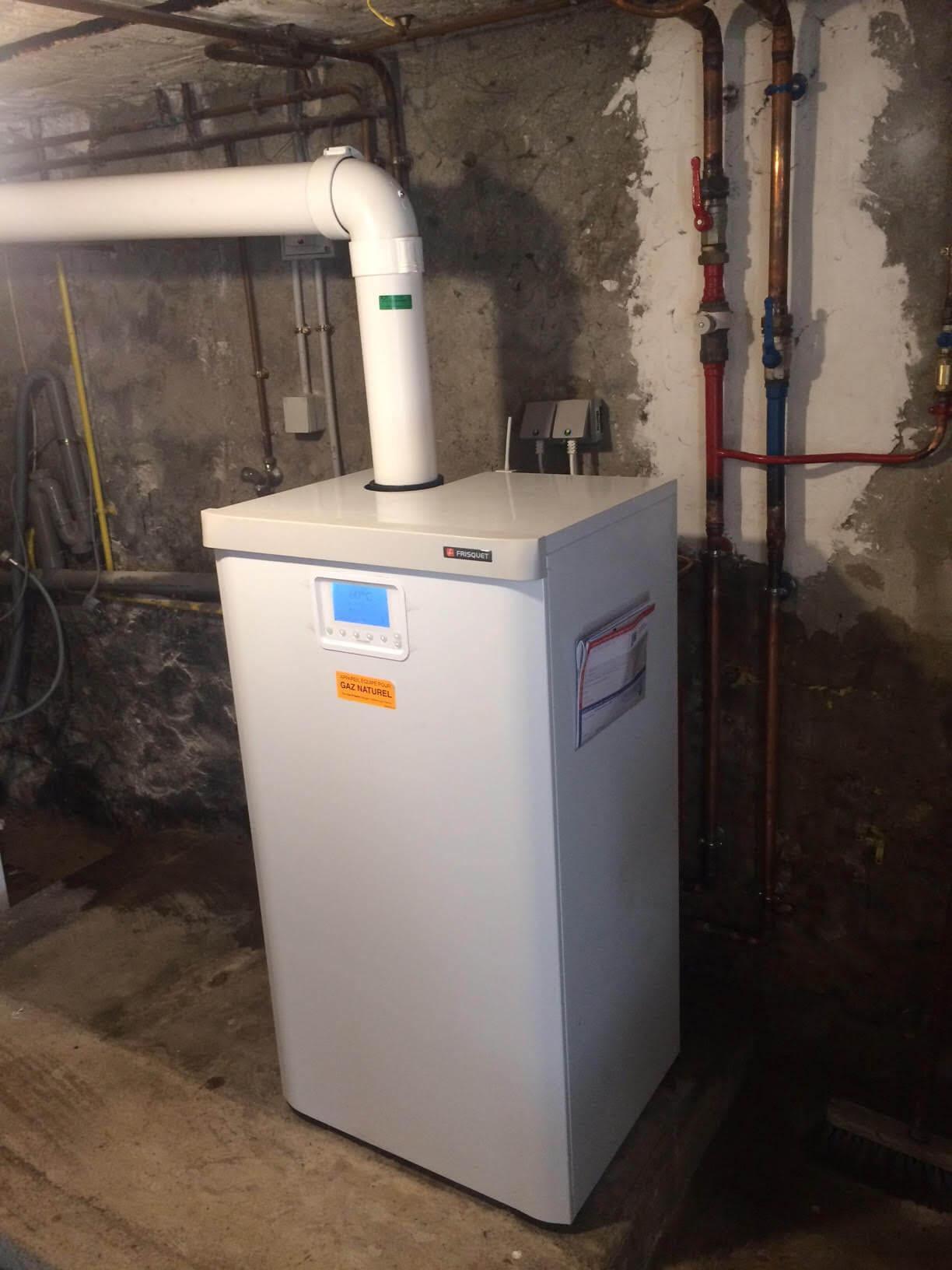 Installation Chaudière À Condensation nos réalisations | calorigaz | artisan plombier chauffagiste
